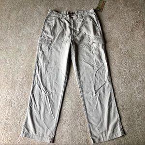 NWT Lee's Khaki Cargo Dress Pants Slack Trousers